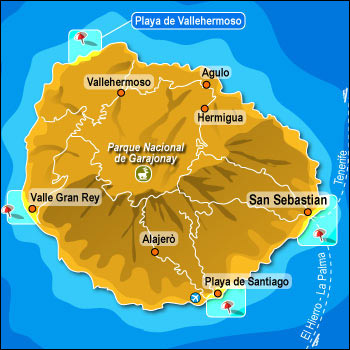 La Gomera En Overset Naturperle For Vandrere
